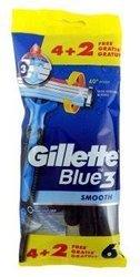 Gillette Blue 3 Maszynki do golenia - 6szt. worek