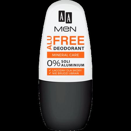 AA MEN ALU FREE deodorant mineral care, 50 ml