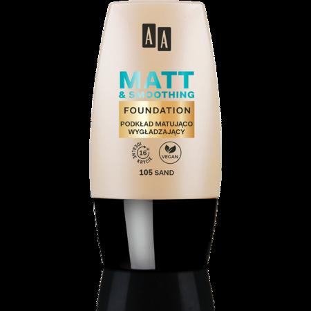 AA Make Up podkład matująco wygładzający 105 sand 30ml