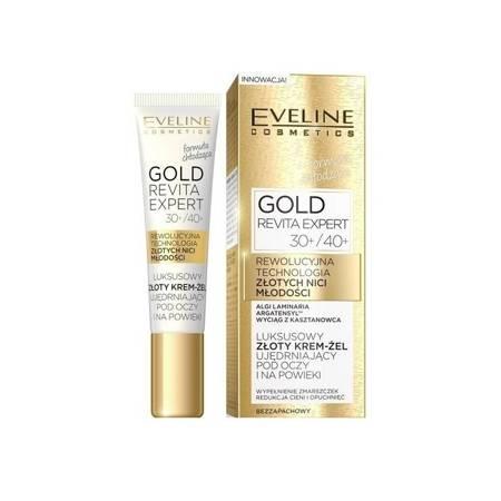 Eveline Gold Revita Expert 30/40+ Krem ujędrniający pod oczy/na powieki 15ml