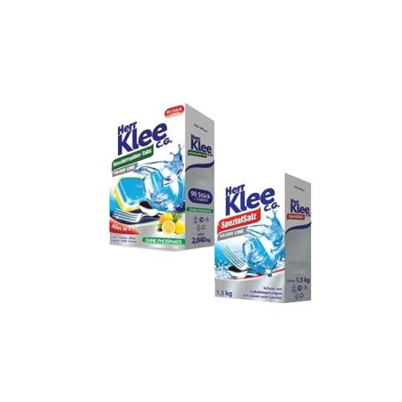 Herr Klee Tabletki do zmywarki 102 szt+Sól do zmywarki