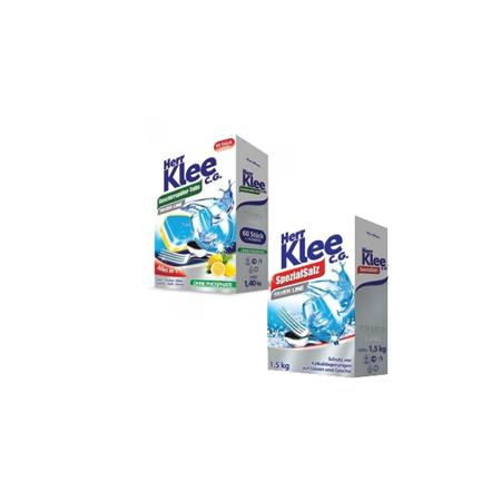 Herr Klee Tabletki do zmywarki 70 szt+Sól do zmywarki