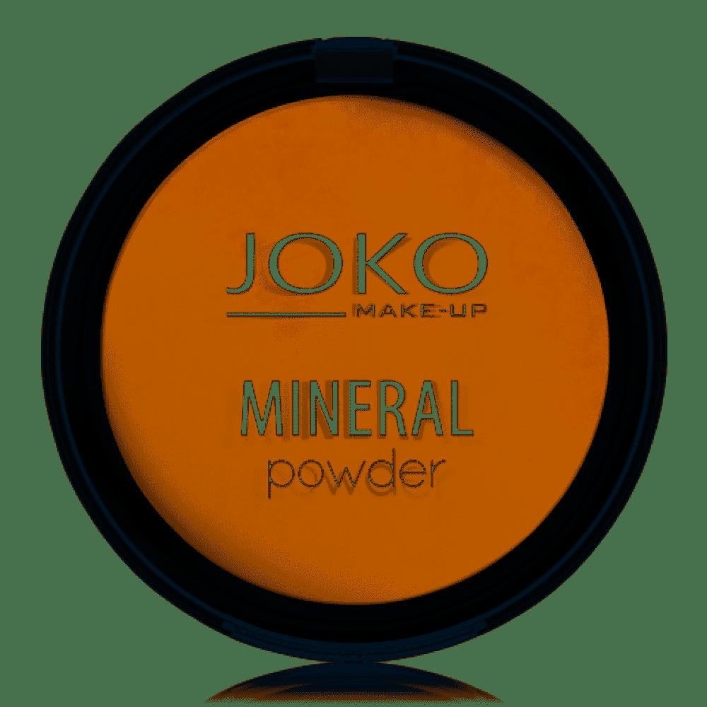 JOKO MINERAL Mineralny puder wypiekany 01 TRANSPARENT